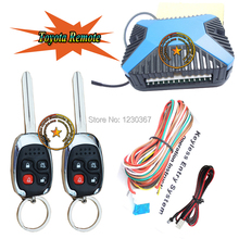TOP keyless entry is with alarm LED indicator,remote keyless lock or unlock car door,auto central lock,trunk release by remote