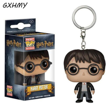 GXHMY Funko Pop Harry Potter Action Figure With Retail Box PVC Keychain Toys Christmas Gift