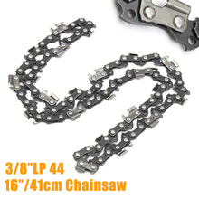 "Buy 1pcs 16"" Chainsaw Saw Chain Blade 3/8""LP Shape Blade Saw Chain Wood cutting Chainsaw Parts for $4.98 in AliExpress store"