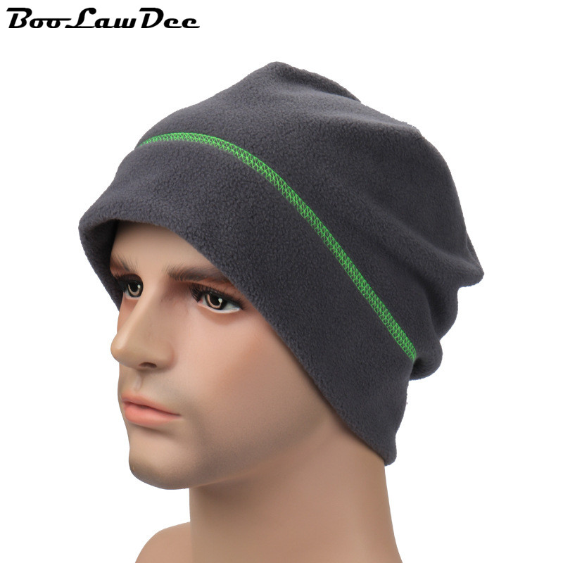 BooLawDee Autumn and winter  warm leisure casual hat couple simple double layer fleece hat riding hat fashion skullcaps 4F027Одежда и ак�е��уары<br><br><br>Aliexpress