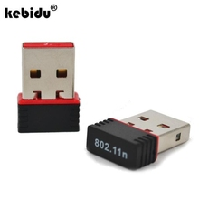 kebidu2017 Mini 150Mbps USB WiFi adapter Wireless Network Card LAN Adapter 150M 802.11n/g/b wi-fi adapters wi fi For PC Computer