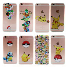 Buy Apple iPhone 7 PLus Case 5.5'' Slim Pokemons Pikachue Transapent Soft TPU Back Cover iPhone 7Plus Silicone Phone Cases for $1.99 in AliExpress store