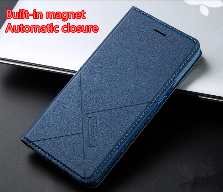 xiaomi redmi note 5 5a 6a 6 Pro Plus S2 Mi A2 Lite Automatic closure Case Flip Leather cover+TPU Silicone Material Back case