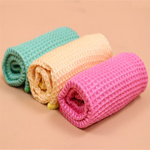 Car Wash Style Waffle Towel Microfiber Cloth Car Cleaning Mirror Bathroom Shower Glass Auto 30 * 30cm