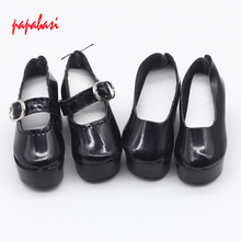 Black 6.3CM Shoes For 1/4 Bjd Shoes LOVELY Doll Shoes Msd BJD Shoes Doll Accessories