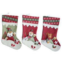Cute Christmas Gifts For Children Christmas Decoration Stockings Cute Candy Bag Christmas Tree Ornaments