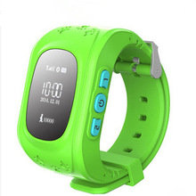 Mini Kids GPS Watch gps tracker SOS Emergency Anti Lost Smart Mobile Phone App Bracelet Wristband Two Way Communication