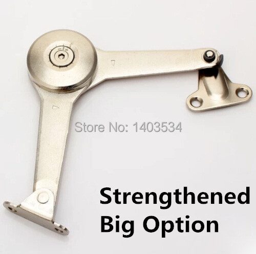 Strengthened  chrome shiny finish zinc alloy Arbitrary stop cabinet door support hydraulic hinge<br><br>Aliexpress