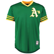 MLB Youth Oakland Athletics Baseball Green Alternate Cooperstown Collection Jersey