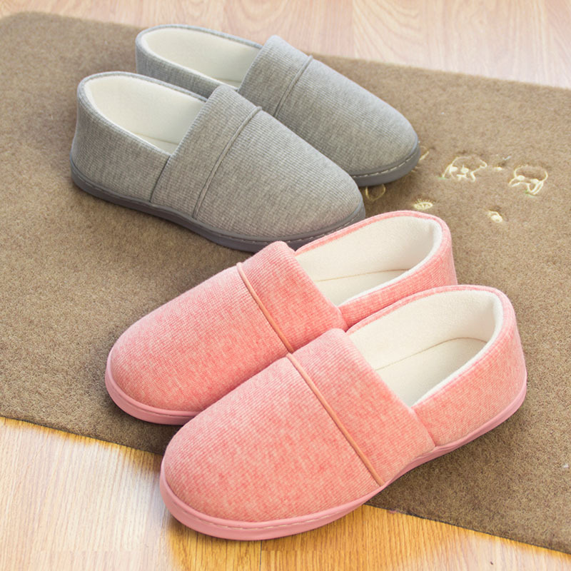 winter to keep warm package with soft bottom pregnant women slippers antiskid big yards of cotton slippers<br><br>Aliexpress