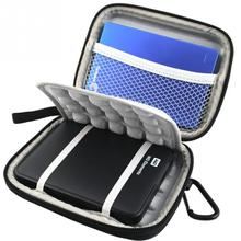 Super Shockproof Protective Hard Bag Case for 2.5 inch Western Digital WD 1TB 2TB USB 3.0 External Hard Drive(China)