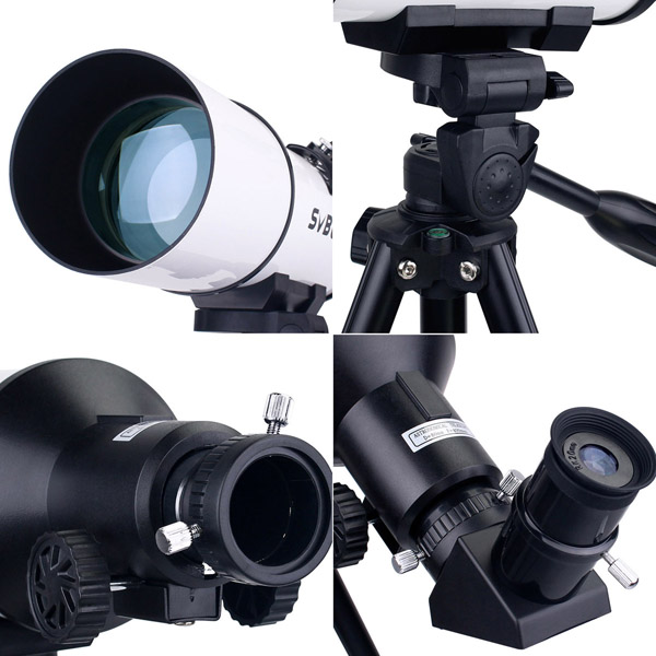 SVBONY 80mm Refractor Telescope Fully Coated Glass Optical 54 (26)