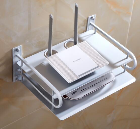 fashion wall mounted living room set-top-box holder,aluminum alloy STB holder,STU hanger<br><br>Aliexpress