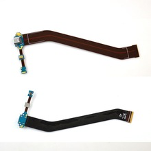 Dock Connector USB Charging Port Flex Cable For Samsung Galaxy Tab 3 10.1 P5200 P5210 , Free shipping!!!