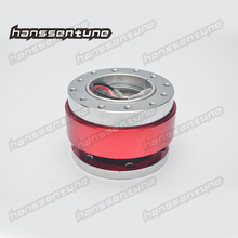 Universal High Quality Self Locking Racing Steering Wheel Quick Release Hub Adapter Snap Off Boss Kit For Sparcos