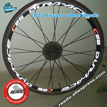 Buy c25 Road bike r ring sticker, sticker width 15mm C25 road bicycle wheel decals Suitable 25mm 30mm rim depth for $11.80 in AliExpress store