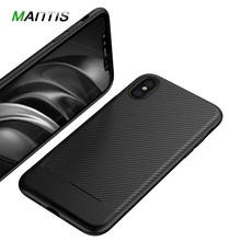 For iPhone X Case Cover , MANTIS Ultra thin Soft TPU Silicone Case For iPhone X Phone Bag For Apple iPhone X Cover Fitted Cases(China)
