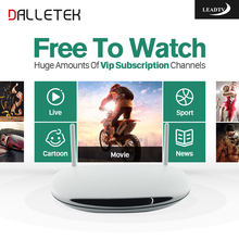 Dalletektv Arabic IPTV Android HD TV Box Europe French Spain Sport Channels Films Vod Load Wireless Run Fast IPTV Media Player(China)