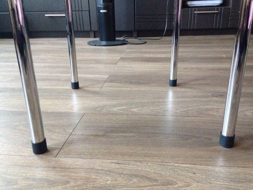 4pcs Furniture Leg Cap 16 25mm Dia Plastic Feet Pads Covers Floor Protector  For Furniture