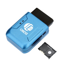 Car GPS locator Tracker OBDII Interface Realtime Tracker Car Mini Tracking Device System Universal GPS Tracker OBD2 Interface(China)