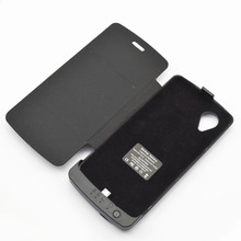 3800mAh Rechargeable Portable Backup External Battery charger case pack cover Power bank with leather case for LG Google Nexus 5