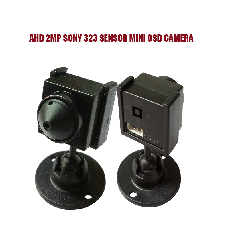 NEW AHD1080P/2MP SONY 323 Sensor Mini Analog High Definition Surveillance Camera Indoor Security AHD CCTV Camera With OSD Menu <br>