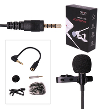 Ulanzi Arimic Lavalier Lapel Clip-on Omnidirectional Condenser Microphone for Apple iPhone/Android Smartphones/DSLRs/Camcorders(China)