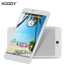 XGODY Origional 7 Inch 3G Tablet Android Quad Core 8GB Unlock 3G Sim Phablet 1280x800 OTG Phone Call Tablet PC WiFI OTG