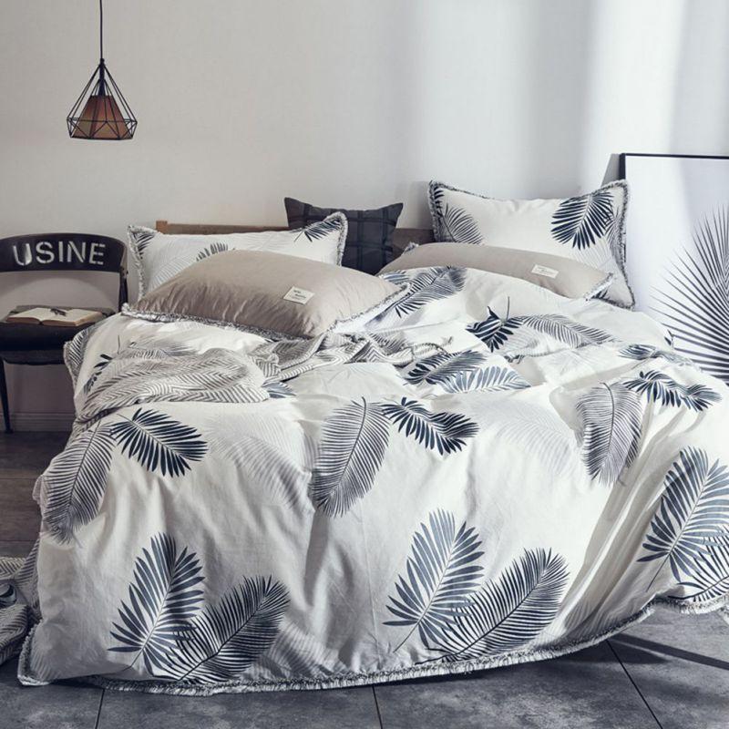 Großhandel Weiches Bettwäscheset Für Einzelnes Doppelbett Blätter ...