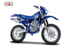 MAISTO 1:18 Yamaha TT R250 TT-R 250 MOTORCYCLE BIKE DIECAST MODEL TOY NEW IN BOX