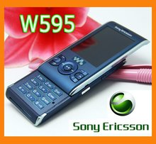 Original Refurbished Sony Ericsson W595 Mobile Phone Unlocked W595 Cell Phone 3.15MP(China)