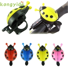 Outdoor 2017 Funny bicycle bell bike bell new ladybug cycling bell outdoor fun & sports bike ring Free Shipping Fishing