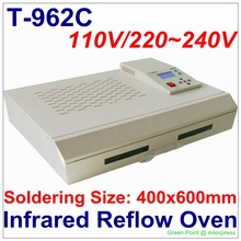 Authorized New Arrival PUHUI T-962C Infrared IC Heater T962C Reflow Oven BGA SMD SMT Rework Sation T 962C Reflow Wave Oven