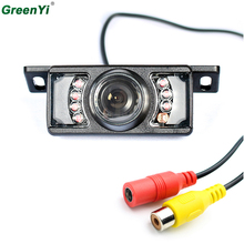 Auto Parking Assistance Vehicle Camera Wide Viewing Angle Waterproof Reversing Backup Camera IR LED Night Car Rear View Camera(China)