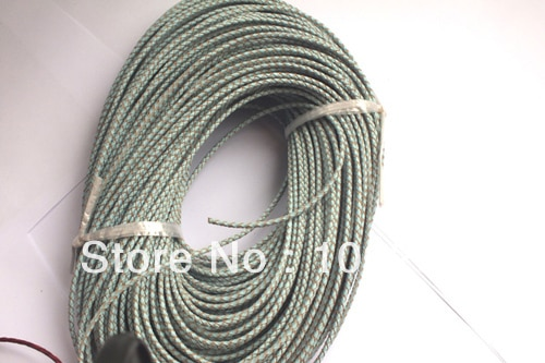 3MM~100m/lot leather cords hot on sale (FREE SHIPPING) MWN8951