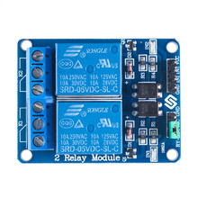 Buy 2 Channel 5V Relay Module Shield Arduino UNO ARM PIC AVR DSP Electronic Relay Module Low Level Triggered Retail Package for $6.25 in AliExpress store