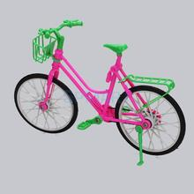 Dollhouse Doll bicycle Plastic Bike for Bobby Doll Multicolor