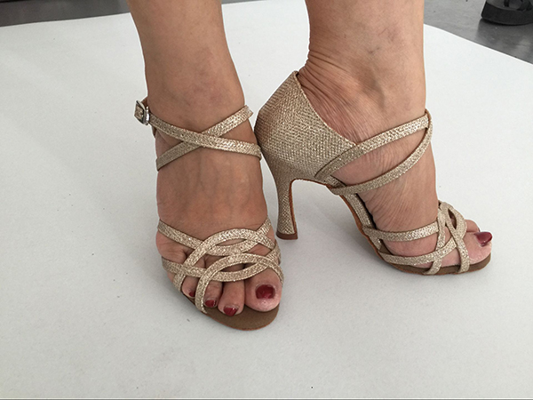 Suphini dance shoes Gold 713-1