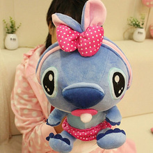High Quality Baby Cute Giant Stitch Plush Toy Soft Stuffed Animals Doll Kawaii Cartoon Appease Toys Pillow For Children Gift(China)