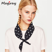 2017 Summer Basic Tee Femme Cotton Dot Print Butterfly Bow Tie Decoration Female T-shirt Short Sleeve Women's T Shirts Tops C399(China)