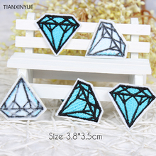 Buy 20pcs/lot cartoon Diamonds Embroidered patches iron patch Motif sew iron Applique DIY accessory Free for $4.16 in AliExpress store