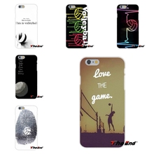 For Huawei G7 G8 P8 P9 Lite Honor 5X 5C 6X Mate 7 8 9 Y3 Y5 Y6 II Sport Fans Love The Game Volleyball Soft  Case Silicone