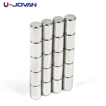 U-JOVAN 20pcs 4x6mm Super Strong N35 4 x 6 mm Craft Rare Earth Permanet Powerful Neodymium Cube Magnets