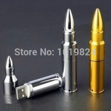 100% real capacity  bullet metal gold and silver  8gb 16gb  pendrive personalized fashion Usb Flash Drives S375