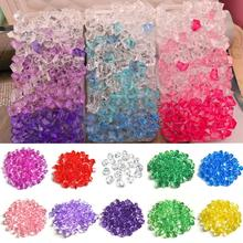 5Pcs/Lot Home Decoration Craft Supplies Irregular Acrylic Crystal Stone Plastic Crystal Stone Plastic Color Stone Ice Cube Stone