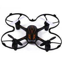 New Hubsan H107P X4 Plus RC Quad Copters 2.4G 4 Channel 6-axis Gyro RC Quadcopter Spin with LED Light Drone Dron Helicopter Toy(China)