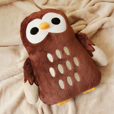 New Dual-use Owl Plush Sofa  And Blanket 2 Designs Mixed Home Decoration Cotton Pillows Child Creative Gift in Stock 1pcs<br>