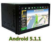 the latest quad -core Andriod 5.1.1 In dash Universal Car Audio Radio Capacitive Touch Screen GPS DVD