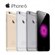 100% Original Apple iPhone 6 Dual Core 4.7Inches 1GB RAM 16/64/128GB ROM 8MP Camera WCDMA LTE IPS IOS Unlocked Used Smartphone(China)