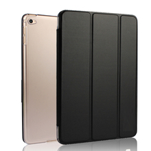 For For Apple iPad Mini 1 2 3 Solid PU Leather Cover Case Tablet Personal Computer Shockproof protect case